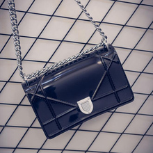 UNstyle 2016 New Summar Candy Color Jelly Chain Shoulder Bags Simple Cover Lock Crossbody Bags Cute Women Messenger Bags BG277