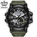 Новая Военная Часы для Мужчин Dual Time Наручные Часы СВЕТОДИОДНЫЙ Цифровой часы мужские Наручные Часы Мужской Часы С Шок СВЕТОДИОД montre homme WS1617
