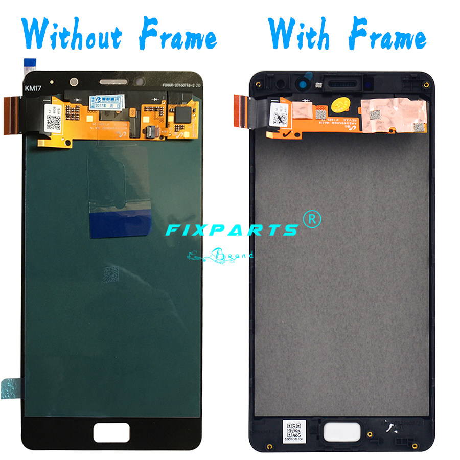 Originale Testato Schermo 5.5 Lenovo P2 Lcd Touch Screen Digitizer Assembly 1920X1080 Lenovo P2c72 Display P2 P2a42 di Ricambio - 3