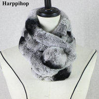 Fur Scarves Female Korean Version Of Autumn And Winter Fashion Variety Scarves Rex Rabbit Hair