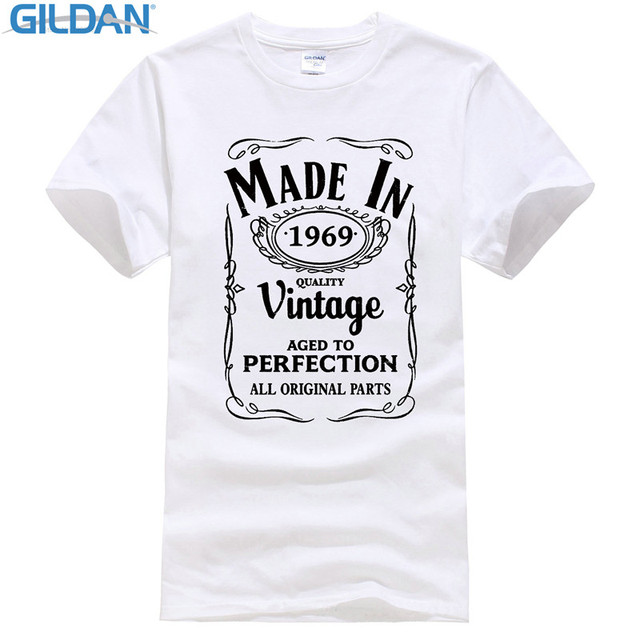 Aliexpress.com : Buy T Shirt Cheap Sale 100% Cotton Made In 1969 T ...