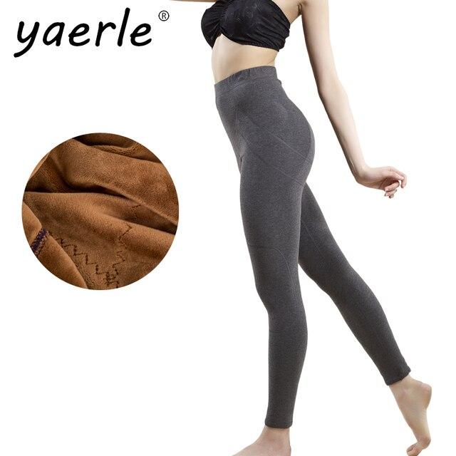 c3adce5408d354 Leggings Women Winter Autumn Warm Plus Thick Velvet High Waist Elastic  Breathable Female Thermal Legging L-XXL High Quality Y3