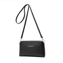 Plaid Shell Bag Women Simple Chequer Crossbody Bag Fashion Casual Clutch Bag Imported PU Leather Zipper