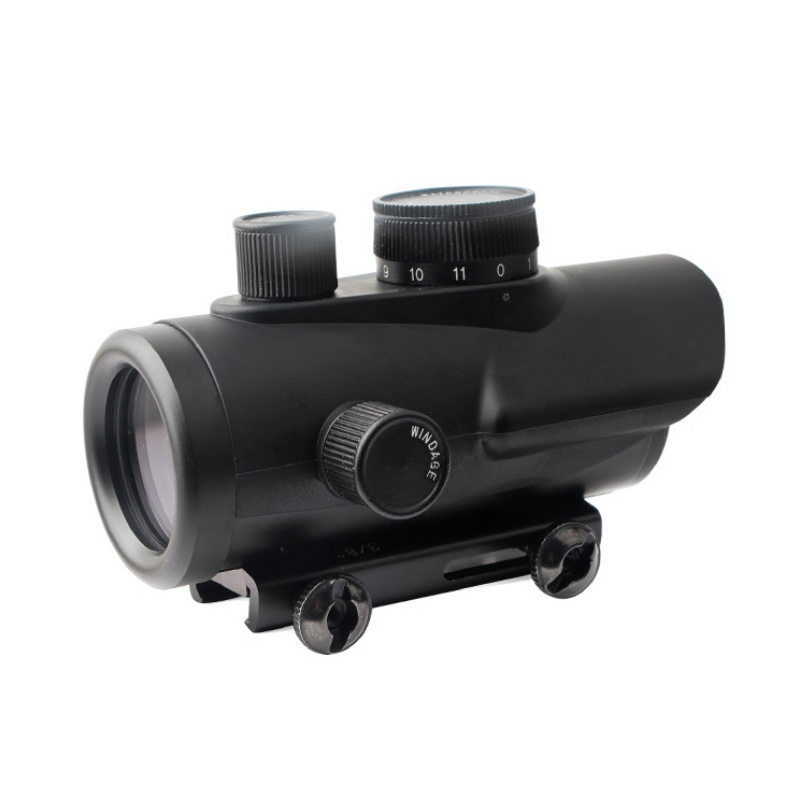 Tactical Red Dot Sight Scope Holographic 1 X 30mm 11mm & 20mm Weaver Rail Mount For Tactical Hunting
