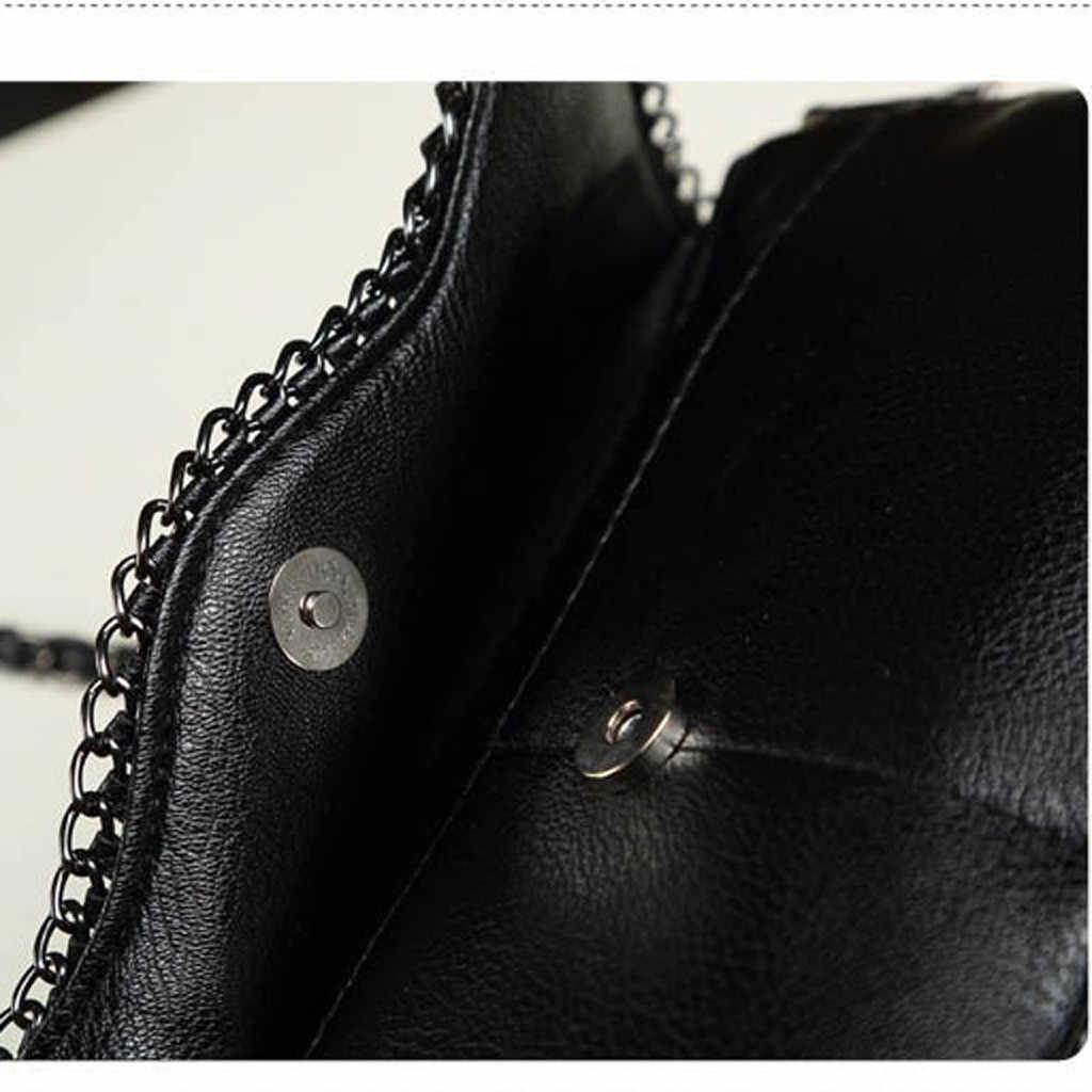 MOLAVE Bolsas zipper saco novo Dama Da Moda Selvagem Preto de Crocodilo Padrão de Embreagem das mulheres elegantes bolsas de Ombro crossbody 9329