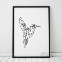 Flying Bird Canvas Painting Poster Wall Pictures For Home Decoration Frame Not Include 221