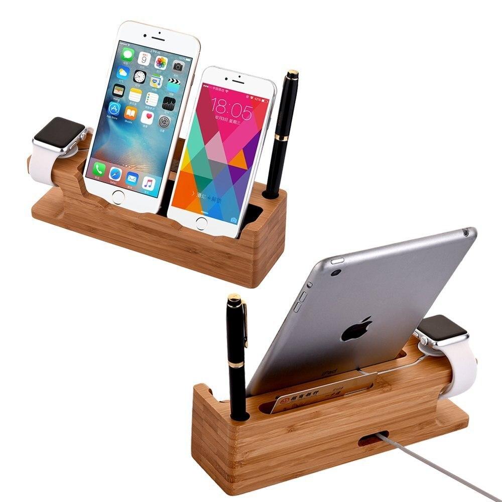 Multifunktionsdockstation för Apple Watch iPhone 8 X 11 Pro iPad - Reservdelar och tillbehör för mobiltelefoner - Foto 4