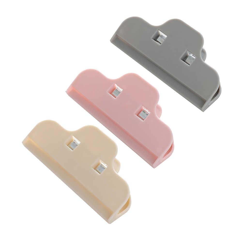 1PC wielokrotnego użytku torba na żywność klip do kuchni do jedzenia przechowywanie zgrzewarka worków Home Clothespin biuro zacisk Snack Seal kieszonkowy uchwyt Snack Clip