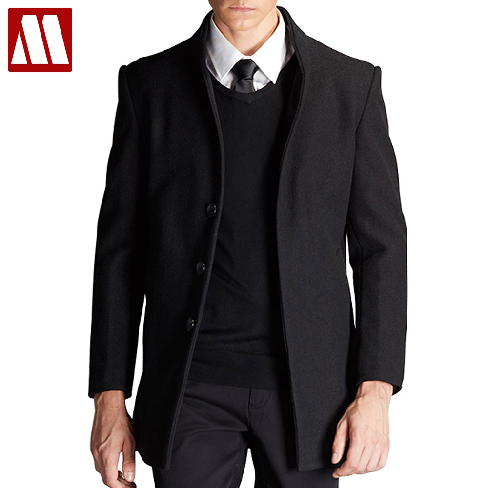 Us52 40Off Jacken Herrenoberbekleidung Mann Fashion Warm 2017 88 Winterjacke Woolen Und Verdicken Mäntel Mantel Trenchcoat Herren Männer Casual DeEH2IbWY9
