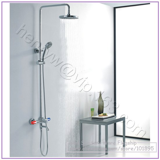 L15170 Luxury High Quality Brass Head Rain Overhead Shower
