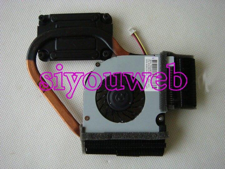 For Original HP Pavilion DM4 DM4-1000 DM4-1100 CPU Fan & heatsink 608229-001, free shipping dm4 non integrated motherboard for h p laptop dm4 616244 001