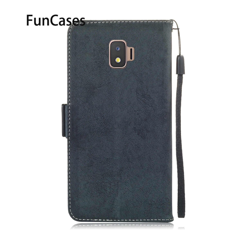 Luxury Cases For Samsung J8 2018 Wallet Cover sFor Samsung Galaxy J2 Core J3 2017 J4 Plus J5 J6 J7 Note 9 S10 Lite S7 Edge S8 S9