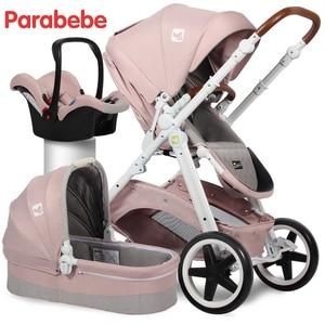 EU Standard Baby Stroller 3 In