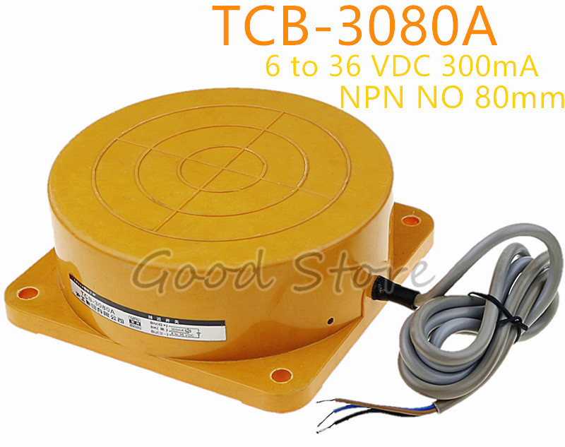 все цены на TCB-3080A DC6-36V 300mA NPN 3WIRE NO Inductive Proximity Sensor Detection distance 80MM remote Proximity Switch sensor switch онлайн