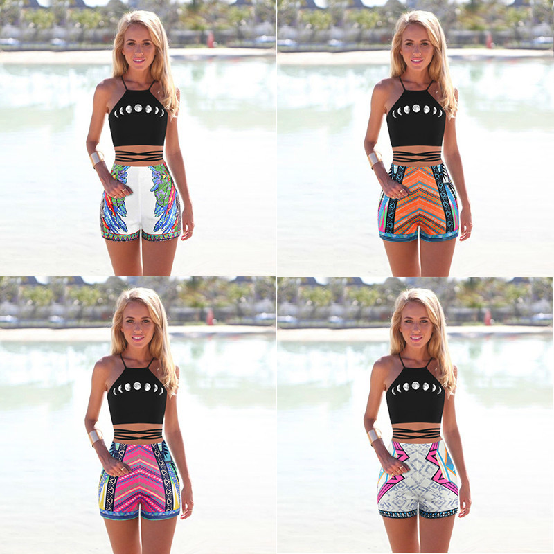 Compare Prices on Women High Waisted Board Shorts- Online Shopping ...