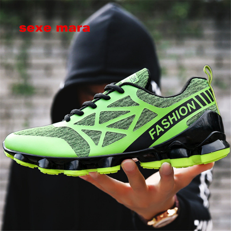 Hot Sale 2017 NEW Running shoes men Sneakers Men Outdoor Sports Shoes Arena Athletic Jogging Trainers Breathable Anti-skid