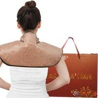 Electric Neck Moxibustion shawl shoulder warm heating pad Hot compress relieve shoulder neck pain health care 220V