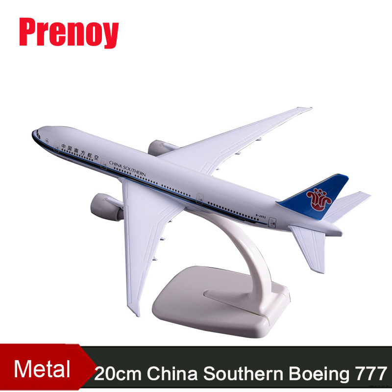 20 cm Boeing 777 China Eastern Airlines Modell <font><b>B777</b></font> Flugzeug Airbus Airways Metall China Easte Flugzeug Modell Kreative Geschenk Handwerk image
