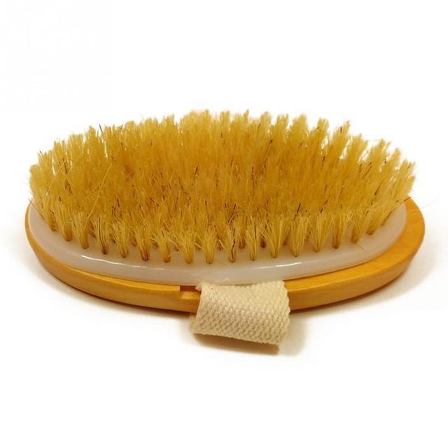 Di legno Spa Doccia Spazzola Da Bagno di Massaggio Del Corpo Pennelli Remover Vi