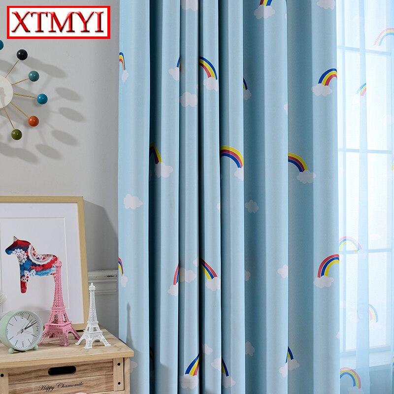 los nios apagn cortinas cortinas para la sala de nios bebs nias de dibujos animados
