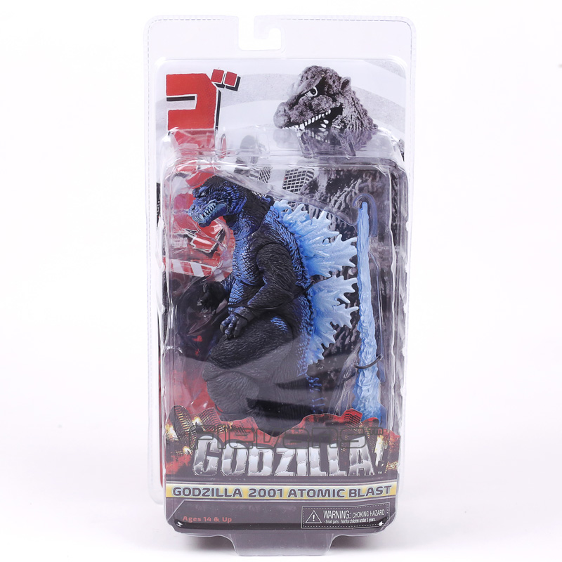 NECA Classic Movie Godzilla 2001 Atomic Blast PVC Action Figure Collectible Model Toy 17cm neca heroes of the storm dominion ghost nova pvc action figure collectible model toy 15cm