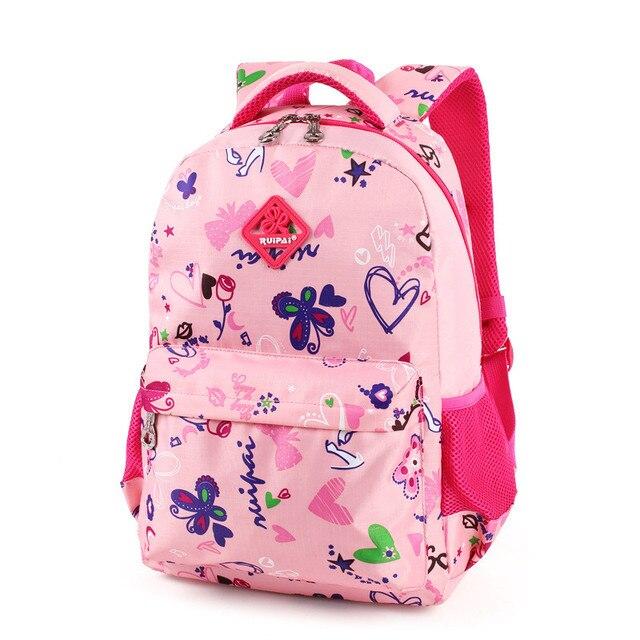5b5b89e3d2ea 8 colors Children Backpacks Primary school bags for teenagers girls boys  satchel kids book bag child