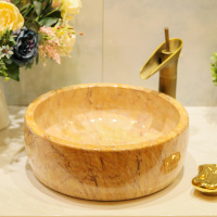 Chinese ceramic washbasin art above counter basin bathroom washbasin art basin wash basin LO621323