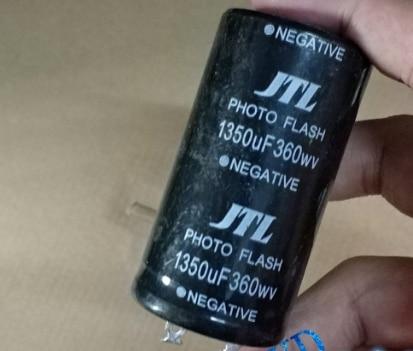 360v 1350uf Photo Flash Capacitor 35*60mm