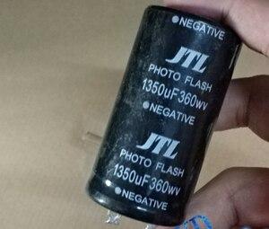 Image 1 - 360v 1350uf photo flash capacitor 35*60mm