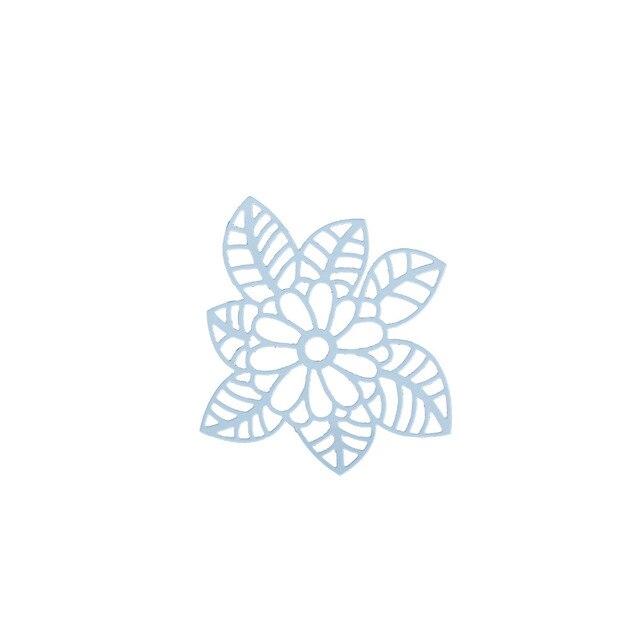 metal steel embossing template leaf flowers die cutting dies stencil