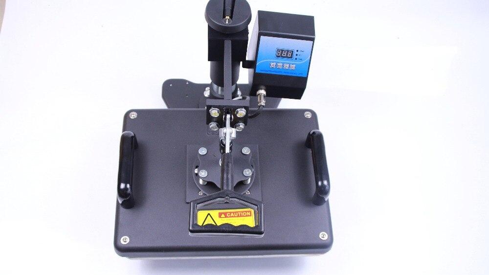 Livraison gratuite 4in1 presse à chaud machine chapeau plaque tasse sublimation transfert chaleur presse T shirt presse machine d'impression DX401