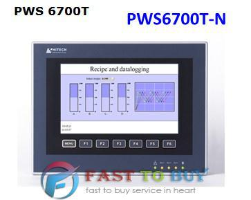 PWS6700T-N HITECH HMI/Touch Screen/Human Machine Interface New in box pws6700t p 7 5 inch hitech hmi pws6700t p update to pws6710t p touch screen panel human machine interface fast shipping