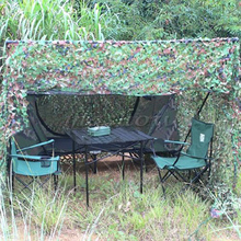 цена на High-Quality Military Camouflage Net Woodland Leaf Sun Shelter outdoor Camp Hunting Camouflage Suitable For Camping Tent Shade