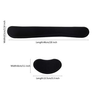 Image 4 - Ergonomic Lightweight Wrist Rest for Computer Keyboard and Mouse Pad Support Memory Foam Set Easy Typing and Wrist Pain Relief