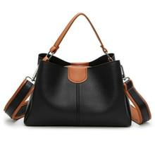цена на Women High Quality PU Leather Handbag Luxury Ladies Shoulder Bags Famale Messenger Bag Casual Tote Bag Sac Bolsos Mujer