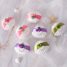30pcs/lot Ocean wedding candy box Shell flower gift Festival decor chocolate favor packaging boxes Party Supplies
