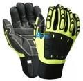 Clutch Gear Cut-Resistant Waterproof Anti-Impact Mechanics Work Gloves