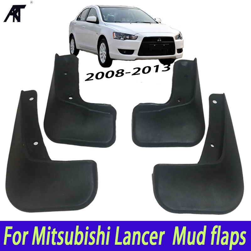 2013 Mitsubishi Lancer Exterior: Car Mud Flaps For Mitsubishi Lancer 2008 2013 2009 2010
