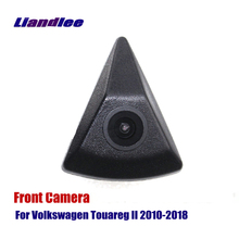 Liandlee AUTO CAM For Volkswagen VW Touareg II 2010-2018 Front View Camera Logo Embedded ( Not Reverse Rear Parking Camera ) цена