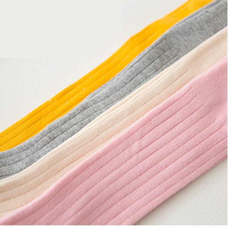 2720914b4 Children s Spring Warm Tights for Baby Girl Mix Color Cotton Pantyhose Pink  Gray Yellow White Toddler Clothes Wear 0 3T TI 04-in Tights   Stockings  from ...