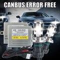 Canbus ballast Xenon H4 hi lo Car headlight h4 Bixenon lamp light Kit 35W H4 6000k 4300K 8000K