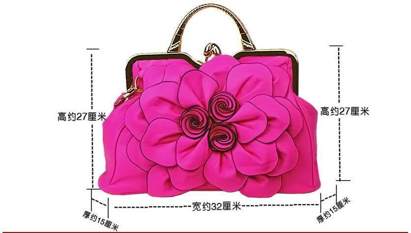 À Diamant La Roses Unique De Mode Grande Normale Épaule Transportatio Sacs Sacs Femmes 2018 Nouvelles Sac Fleur Joker Bandoulière Avec ncR6qEvFPW