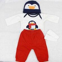 Conjunto Mi pequeño pingüinito para muñecos reborn de 55 a 60 cm
