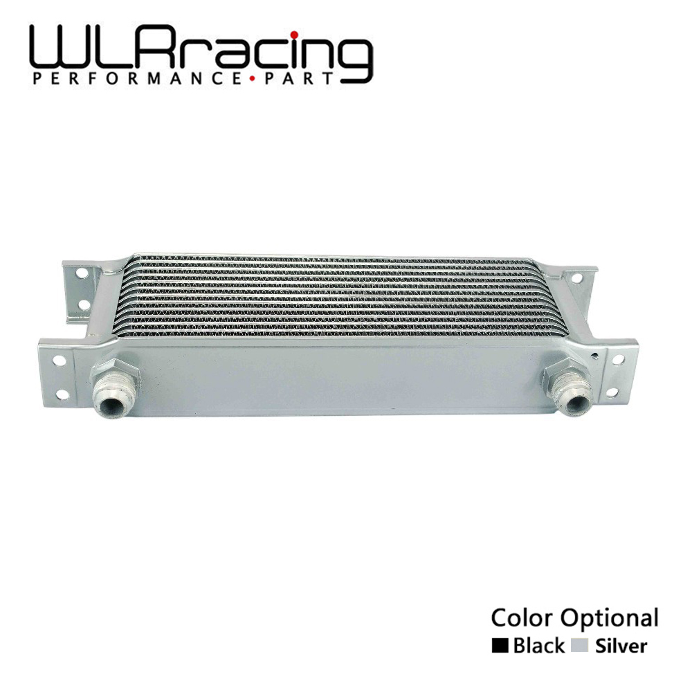 WLR RACING-13 rangée Britannique type Universel En Aluminium Moteur refroidisseur d'huile de transmission 13 rangées WLR7013