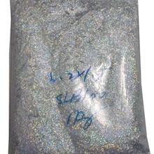 1 кг фольги блеск для украшения Лазерная полосы Flitter бар Форма для УФ гель лак для ногтей волокон золото/Серебристая мишура голографические