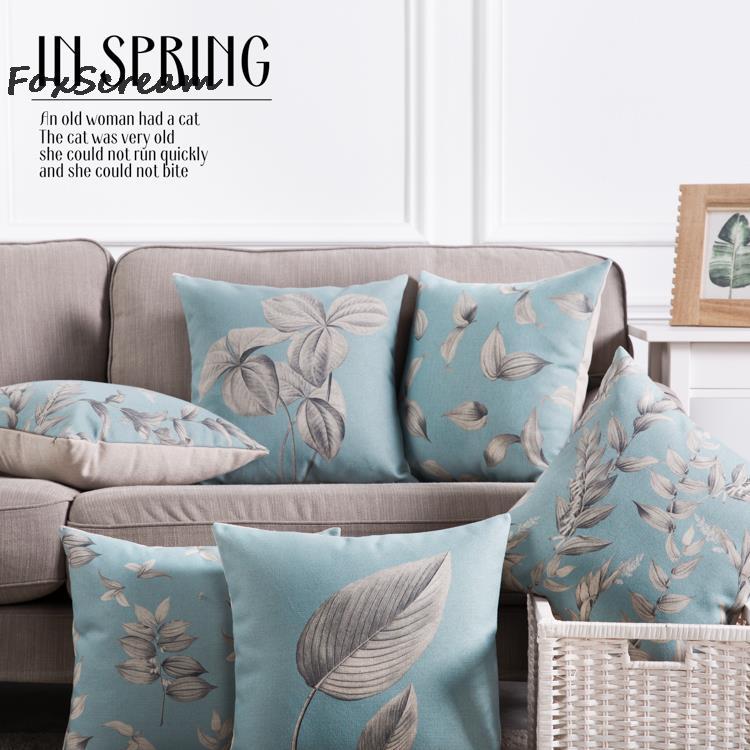 db6e2e17be0555 Vintage sofa thro kussens decorativos, Linnen grijs blauw kids decoratieve  kussens, kussen kussens voor sofa, cojines decorativos 45x45 in Vintage  sofa thro ...