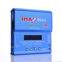 Build Power iMAX B6AC 80W 6A Lipo Battery Balance Charger LCD Display Discharger RC Model battery charger Re peak Mode imax