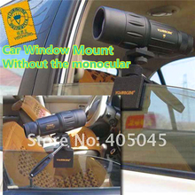 Buy online Visionking Camera & Lens Car Window Mount For Spotting Scope Camera Monocular Telescopes Aluminum Car Window Mount Good Quality