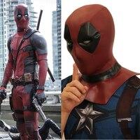 High Quality Movie Deadpool Cosplay Props Wade Wilson Women Men Full Head Helmet PVC Mask Party Fancy Ball Halloween Masks New
