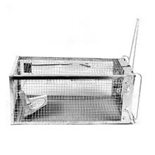 Крутой дизайн многоразовые Ловушки для борьбы с вредителями металлическая клетка для Дома Офиса складской гараж сарай грызун сплав цинка ловчая клетка ловушки